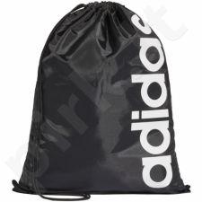 Krepšys batams Adidas Linear Core Gym Sack juodas DT5714