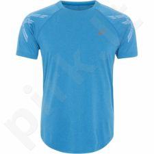 Marškinėliai bėgimui  Asics Stripe Short Sleeve Top M 141199-8155