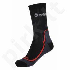 Kojinės HI-TEC GIMBO juoda-czerwone