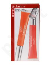 Clarins Instant Light Lip Perfector Set rinkinys moterims, (12ml Lip Perfector 01 + 12ml Lip Perfector 02)