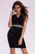 Emamoda suknelė - juoda 10001-2