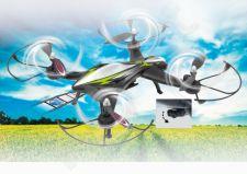 Radio bangomis valdomas Jamara F1X Altitude AHP+ dronas su Wifi FPV kamera