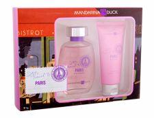 Mandarina Duck Let´s Travel To Paris, Eau de Toilette moterims, 100ml