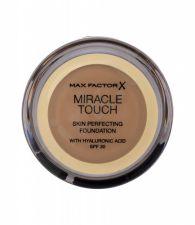 Max Factor Miracle Touch, Skin Perfecting, makiažo pagrindas moterims, 11,5g, (078 Sand Beige)