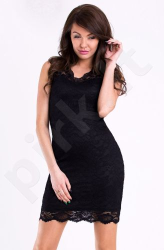 Emamoda suknelė - juoda 11004-3