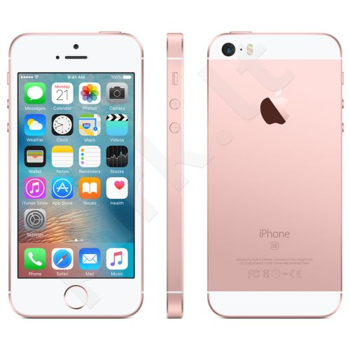 Telefonas Apple iPhone SE 4G 64GB MLXQ2DN/A Rožinis