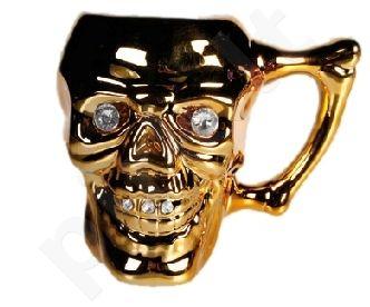 Puodelis - kaukolė