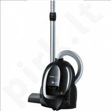 Siemens VS01E1550 Vacuum cleaner,Telescopic Tube, 3l dust capacity, Working Radius 8 m, 1550 W, Black