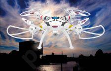 Radio bangomis valdomas Jamara Germany Payload Altitude AHP+ dronas su Wifi FPV HD kamera