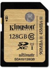 Atminties kortelė Kingston Ultimate 128GB SDXC UHS-I