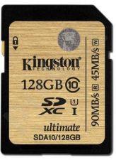Atminties kortelė Kingston Ultimate 128GB SDXC UHS-I