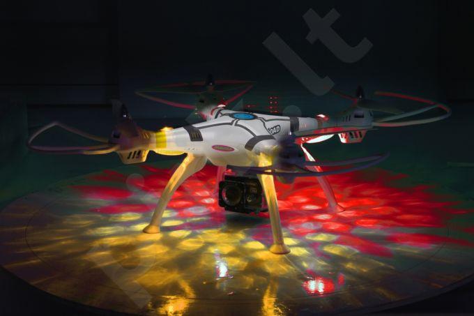 Radio bangomis valdomas Jamara Germany Payload Altitude AHP+ dronas su Wifi FPV Full HD veiksmo kamera