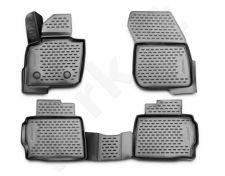 Guminiai kilimėliai 3D FORD Mondeo 2015->, 4 pcs. /L19101G /gray