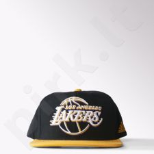 Kepurė  su snapeliu Adidas Los Angeles Lakers Flat Brim Hat S24780