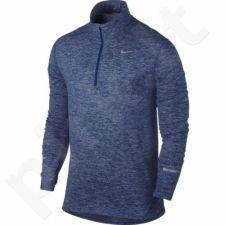 Marškinėliai bėgimui  NIKE DRI-FIT ELEMENT HALF-ZIP M 683485-458
