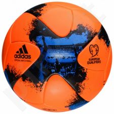 Futbolo kamuolys Adidas European Qualifiers Official Match Ball Winter AO4840
