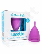 2 dydis Lunette Menstruacinė Taurelė (Purpurinė)