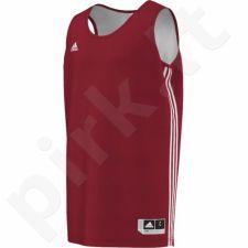 Marškinėliai krepšiniui Adidas Practice Reversible M E71813