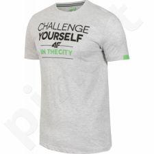 Marškinėliai 4f M T4Z16-TSM004 pilkas