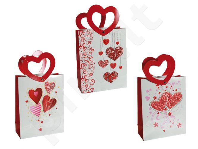 """Dovanų maišelis """"Širdelė"""""""