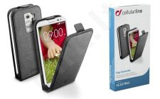 LG G2 mini dėklas FLAP ESSEN Cellular juodas