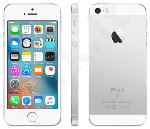 Telefonas Apple iPhone SE 4G 16GB sidabrinis