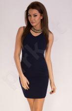 Emamoda suknelė - mėlyno atspalvio 10002-2
