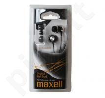 Maxell DrumSoundz ausinės ausyse (juodos)