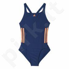 Maudymosi kostiumėlis Adidas Infinitex Essence Core 3-Stripes Junior BP9513