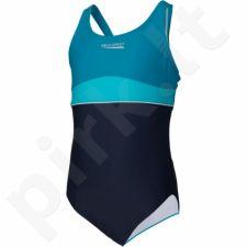 Maudymosi kostiumėlis Aqua-Speed EMILY Junior tamsiai mėlyna-mėlynas