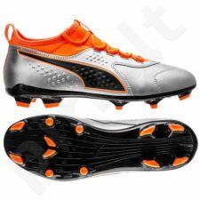 Futbolo bateliai  Puma One 3 Lth FG M 104743 01