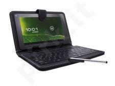 Universalus planšetės dėklas Natec 7 colių planšetėms+micro USB  klaviatūra ir plunksna