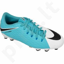 Futbolo bateliai  Nike Hypervenom Phelon III FG Jr 852595-104