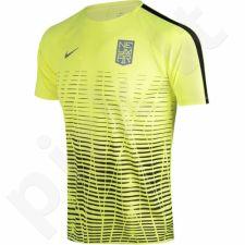 Marškinėliai futbolui Nike Dry Squad Top SS Neymar Junior 890800-702