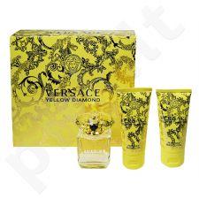 Versace (EDT 50 ml + 50 ml kūno losjonas + 50 ml dušo želė) Yellow Diamond, rinkinys moterims