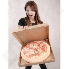 Pliušinė pagalvė- pica