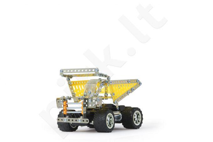 Radio bangomis valdomas Metalinis sukonstruojamas RC automobilis