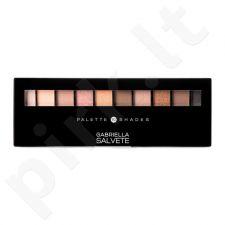 Gabriella Salvete 10 šešėlių paletė, kosmetika moterims, 12g, (02 Nude)