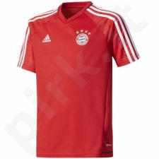 Marškinėliai futbolui adidas FC Bayern Monachium Training Jersey Junior BQ2465