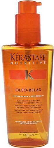 Kérastase Nutritive, Oléo-Relax, plaukų aliejus ir serumas moterims, 125ml