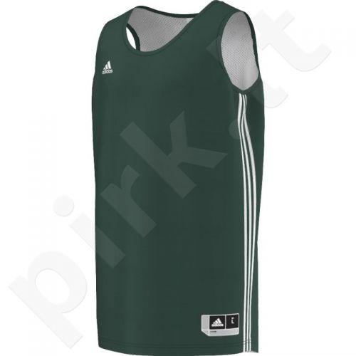 Marškinėliai krepšiniui Adidas Practice Reversible M E71809