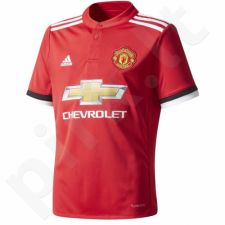 Marškinėliai futbolui adidas Manchester United Home Jersey 17/18 Junior AZ7584