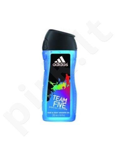 Adidas Team Five, 400ml, dušo želė vyrams