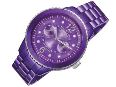 Esprit ES105802004 Marin Speed Aluminium Violet moteriškas laikrodis