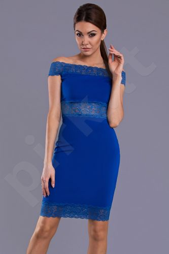 Emamoda suknelė - mėlyna 8808-1