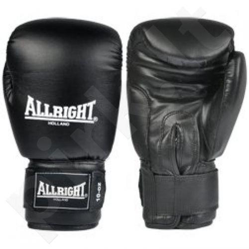 Bokso pirštinės  Allright PVC  juodas