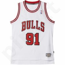 Marškinėliai krepšiniui Adidas Swingman Chicago Bulls Retired Dennis Rodman M A46387