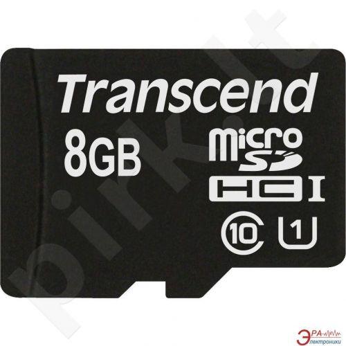 Atminties kortelė Transcend microSDHC 8GB UHS-I 600x