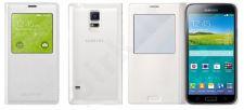 Samsung Galaxy S5 S view dėklas baltas