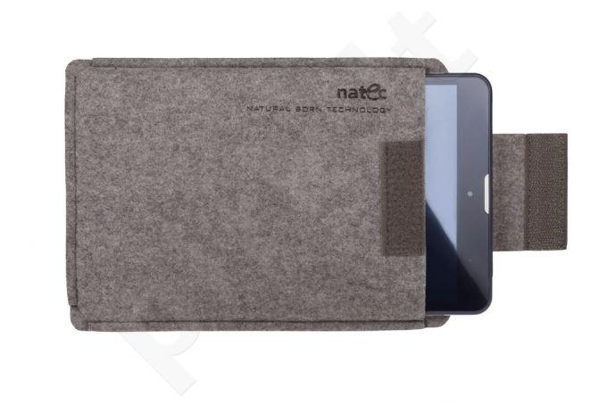 Planšetės dėklas Natec NATEC SHEEP 10' kava-Pilkai